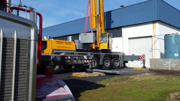 American Drilling Crane Service HVAC