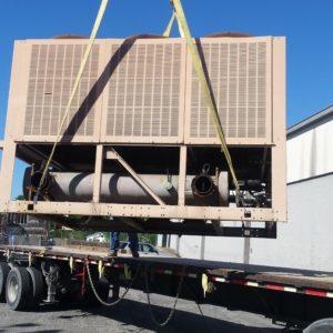 American Drilling Crane Division Haul off HVAC Service