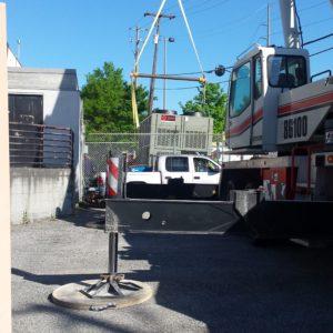 American Drilling Crane Division HVAC Chiller Install