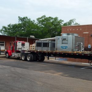 American Drilling Crane Division HVAC Shipping